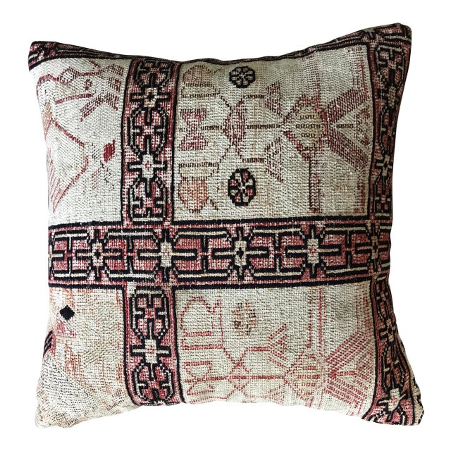 Vintage Turkish Kilim Pillow For Sale
