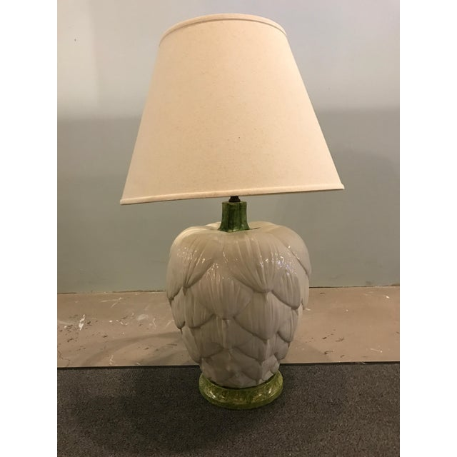 1960's Ceramic Artichoke Lamp - Image 2 of 11