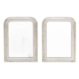 Louis Philippe Period Silver Leaf Mirrors For Sale