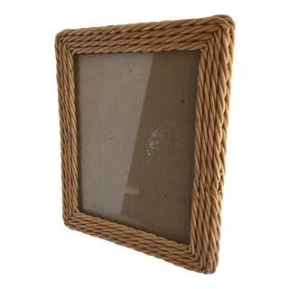 Vintage Boho Braided Wood Photo Frame