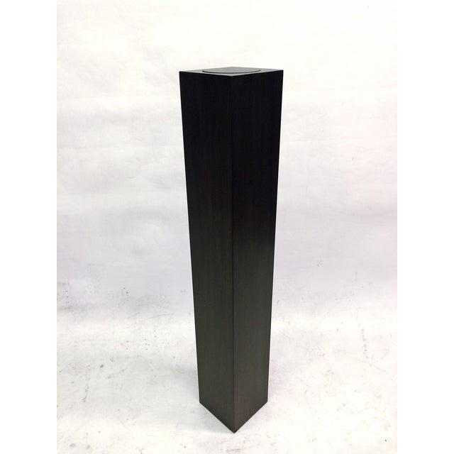 Ebony Stain Swivel Top Pedestal - Image 2 of 5