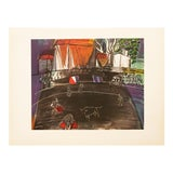 """Image of 1954 Raoul Dufy, """"Bullfight"""" First Edition Lithograph For Sale"""