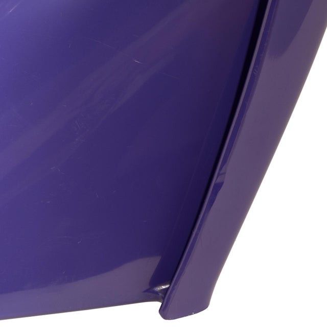 1976 Verner Panton S-Chair in Purple For Sale - Image 9 of 10