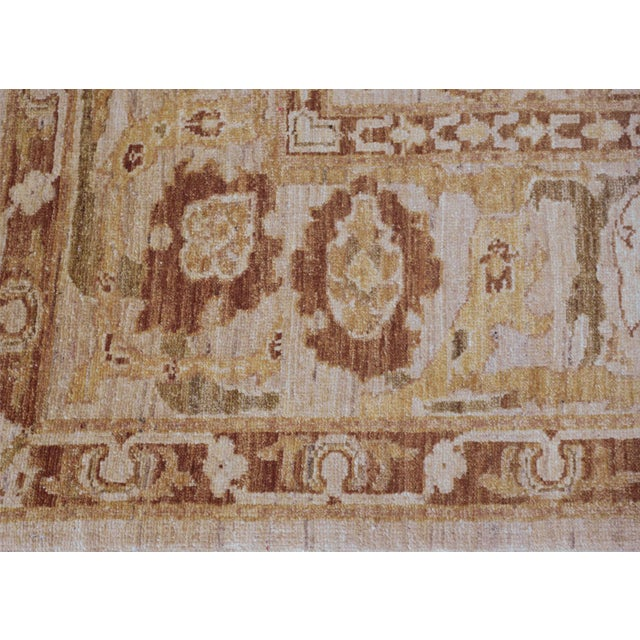 MANSOUR Mansour Quality Agra Rug - 6′4″ × 7′8″ For Sale - Image 4 of 6