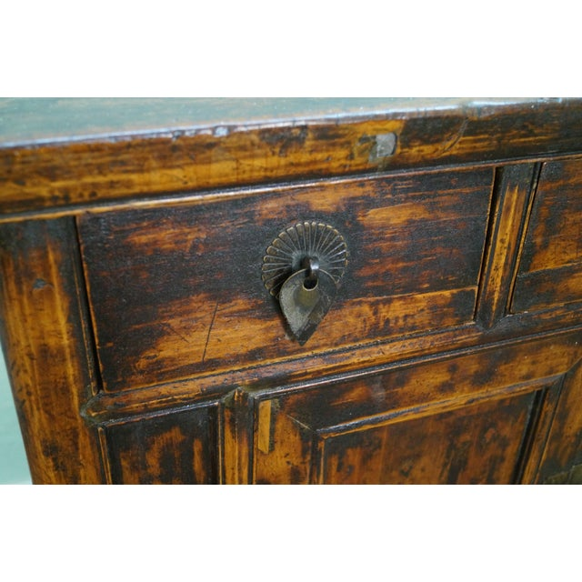 Rustic Chinese Console with Drawers - Image 10 of 10