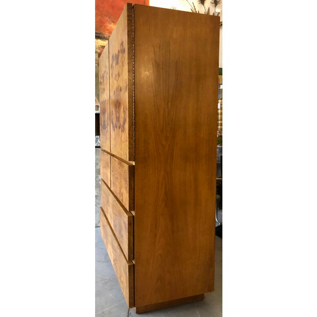 1970s Burl Wood Cabinet by Lane Altavista For Sale - Image 5 of 7