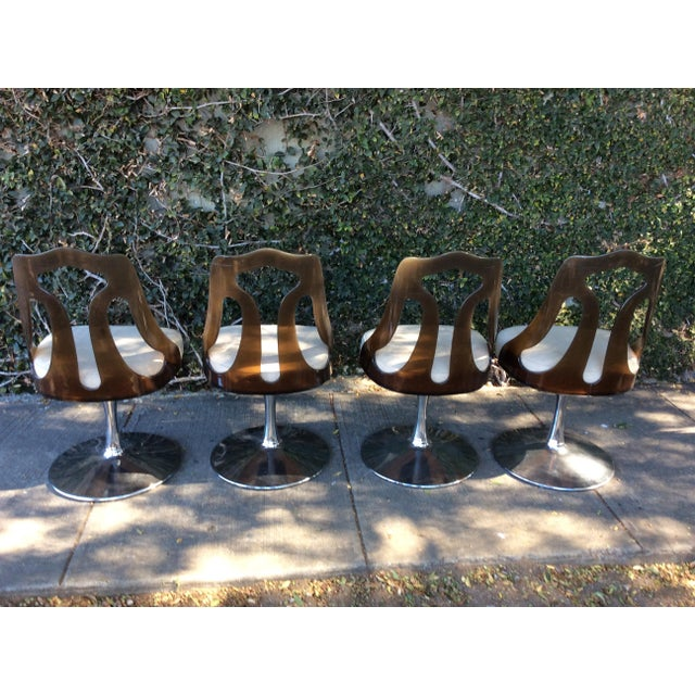Acrylic Mid-Century Dinette Set For Sale - Image 7 of 11