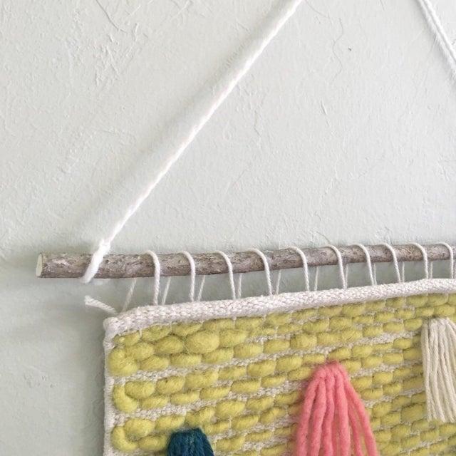 Pastel Tassel Wall Weaving - Image 4 of 4