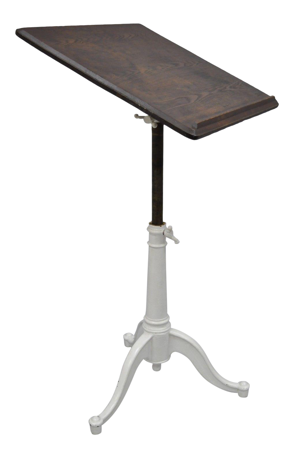 Eugene Dietzgen Cast Iron U0026 Wood Drafting Table