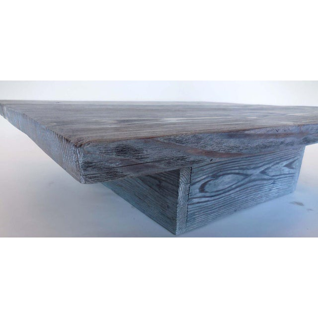Wood Custom Reclaimed Wood Coffee Table For Sale - Image 7 of 7