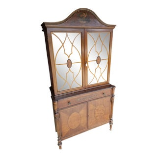Wood China Hutch