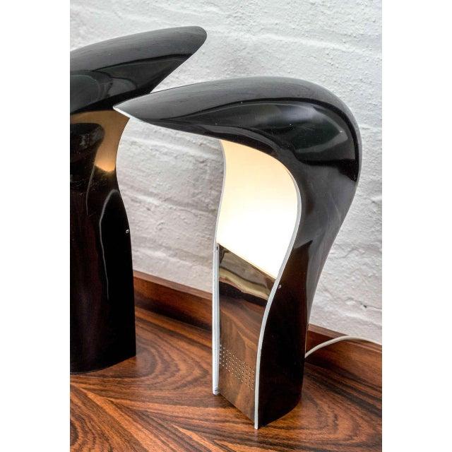Cesare Casati & C. Emanuele Ponzio Pelota Table Lamps - A Pair For Sale In San Francisco - Image 6 of 8