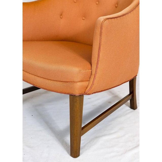 Beech Frits Henningsen Lounge Chair For Sale - Image 7 of 9