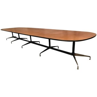 Classic Charles and Eames Aluminium Group Conference Table Herman Miller For Sale