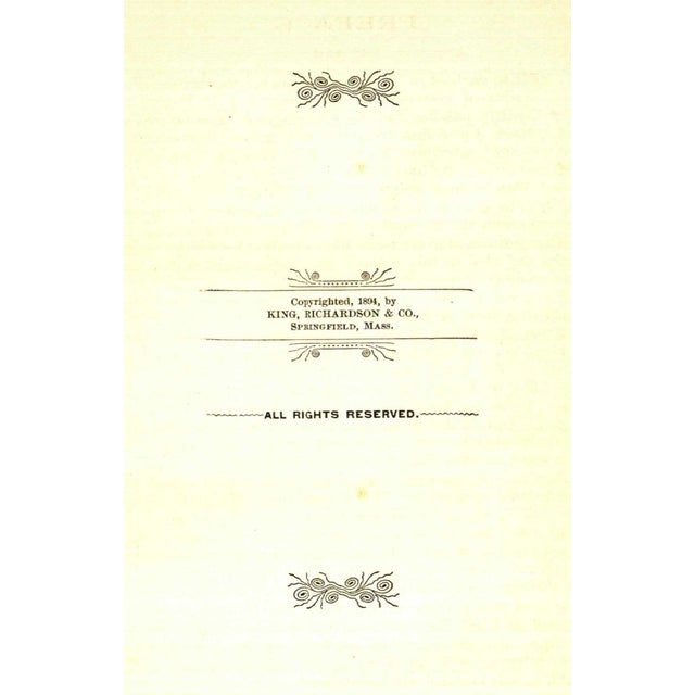 """Traditional 1894 """"Portraits/Principles of Great Men/Women"""" Collectible Book For Sale - Image 3 of 5"""