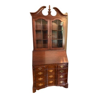 Vintage Pennsylvania House Cherry Secretary Desk For Sale