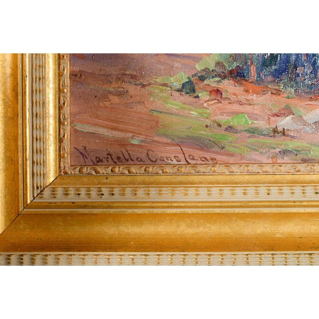 Martella Cone Lane -California Landscape -Oil Painting -Impressionist C.1920s For Sale - Image 5 of 9