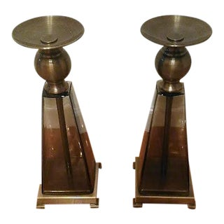 Lesio Candle Holder - A Pair For Sale