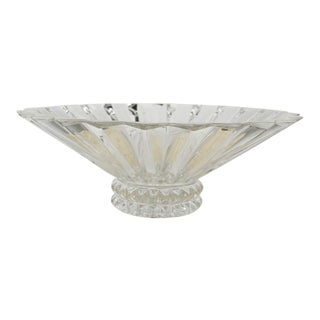 Rosenthal Art Deco Crystal Bowl For Sale