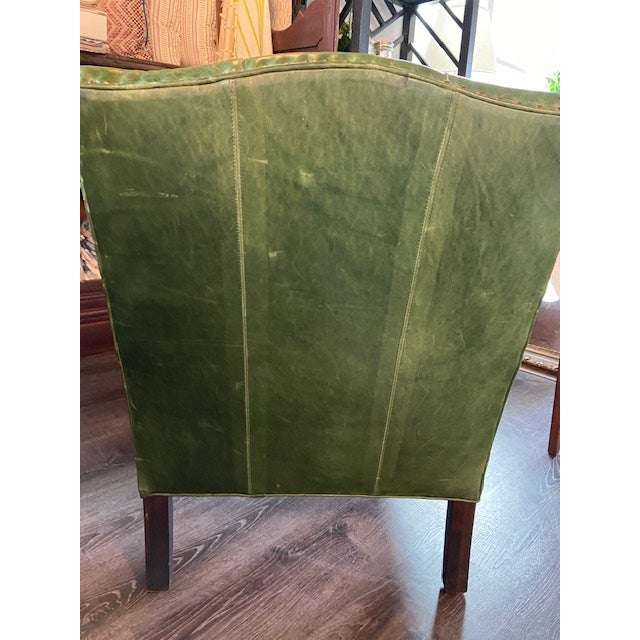 Metal Cisco Brothers Gallant Green Chair For Sale - Image 7 of 7