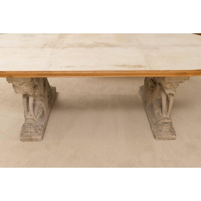 Maison Jansen Dolphin Motif Table For Sale In San Francisco - Image 6 of 13