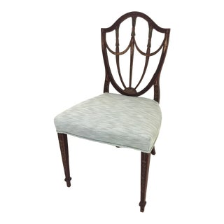 18th Century Hepplewhite Shield-Back Chair For Sale