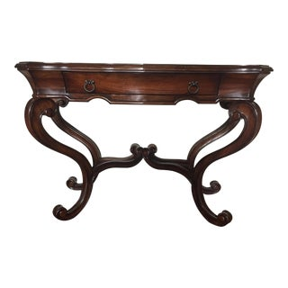 Traditional Hickory Chair Console Table For Sale