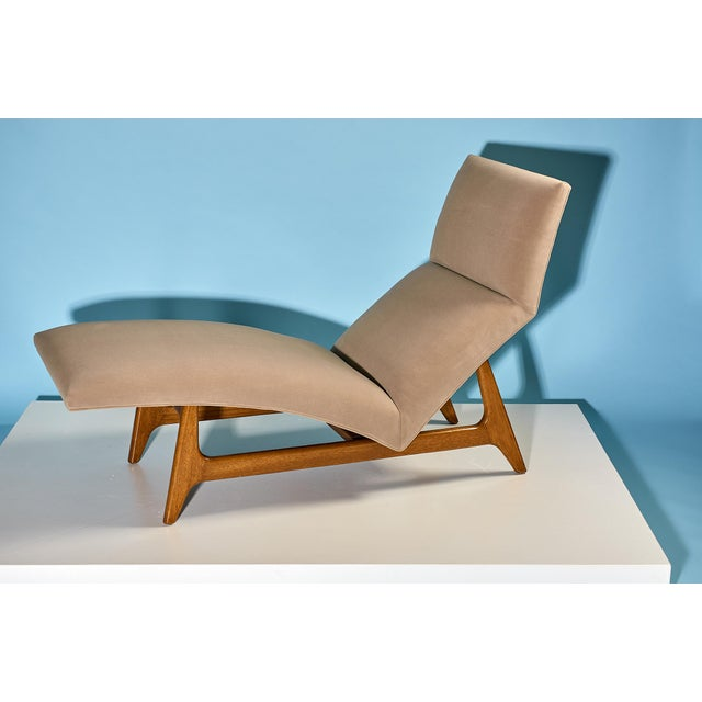 Harvey Probber Harvey Probber Chaise Lounge Circa 1950s For Sale - Image 4 of 7