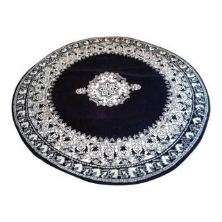 Moroccan Round Rug- 5′ × 5′