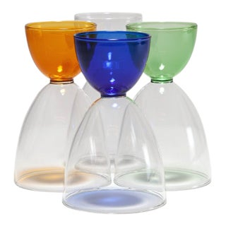 Mamo Cocktail Glasses - Set of 4 For Sale