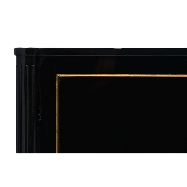 1920s Louis XVI Style Ebonized Buffet For Sale - Image 5 of 10