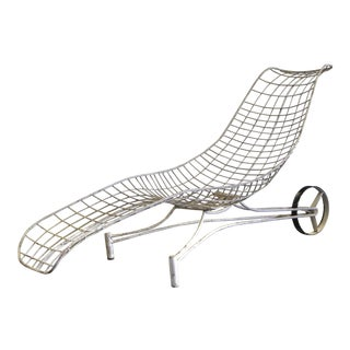 1950s Vintage Vladimir Kagan Capricorn Chaise Lounge For Sale
