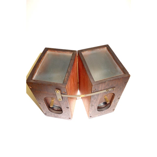 Vermeers Camera. A Circa 1920s Camera Obscura Invented by Anson K. Cross. Rare Hand Made Original For Sale In Dallas - Image 6 of 12