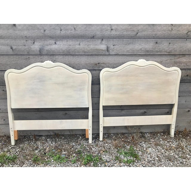 1960s Drexel French Provincial Touraine Twin Head Boards - a Pair For Sale - Image 5 of 10