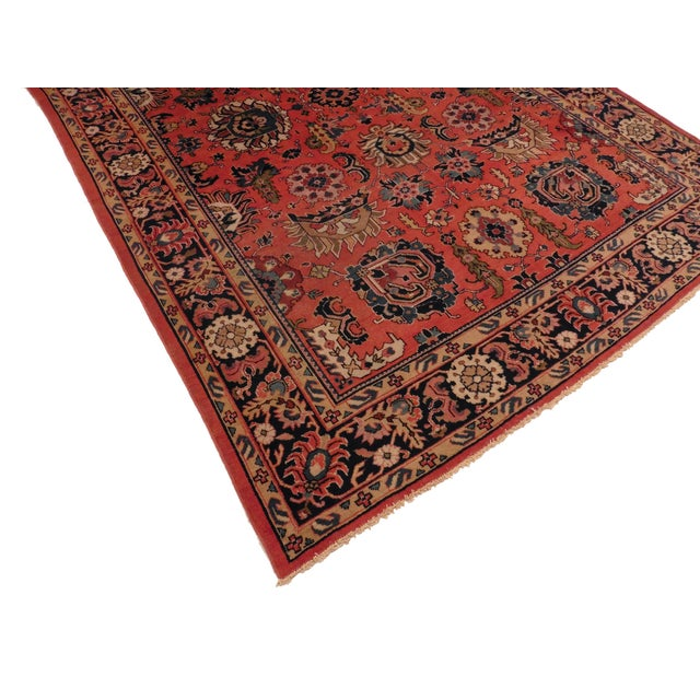 "Antique Persian Malayer - 7' x 12'2"" - Image 2 of 2"