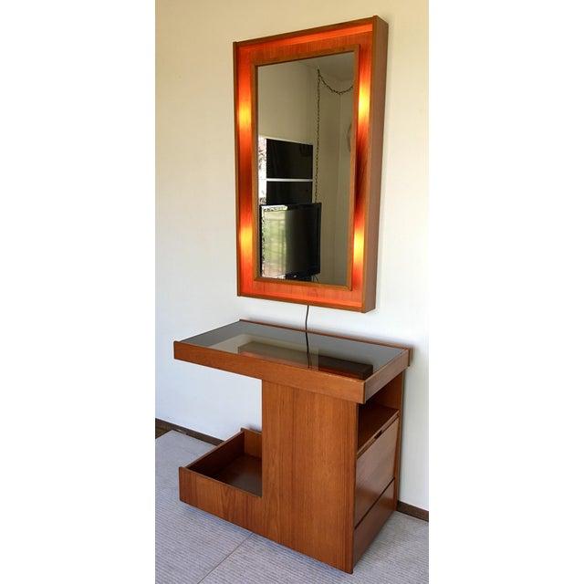 Pedersen & Hansen Danish Modern Mirror - Image 2 of 11