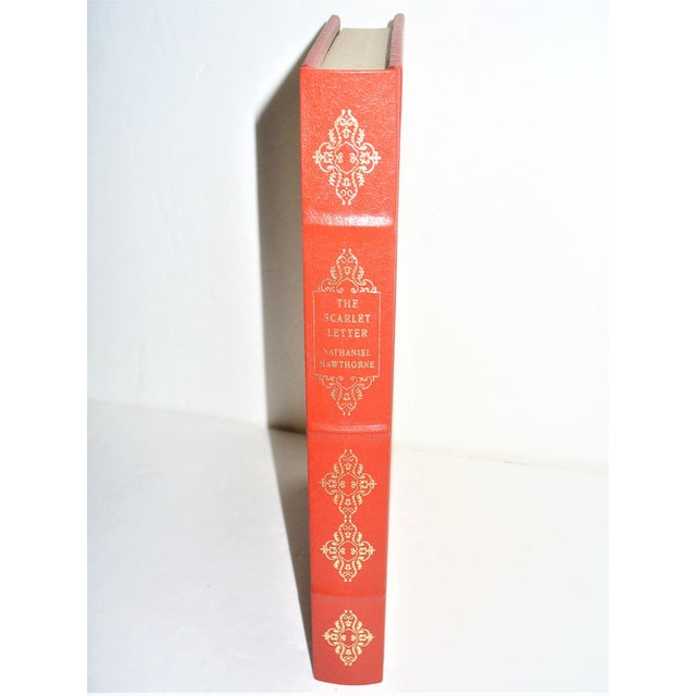 The Scarlet Letter by Nathaniel Hawthorne Deluxe Edition Franklin Library For Sale In Little Rock - Image 6 of 6