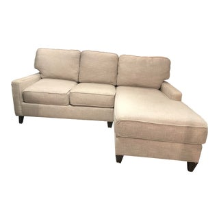Cr Laine 2 Piece Sectional Sofa For Sale