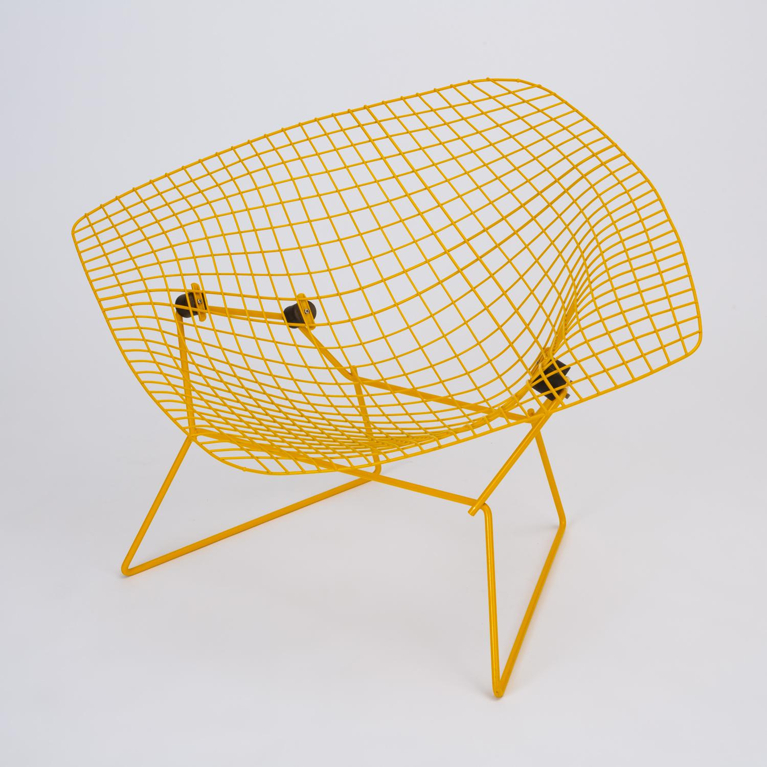 Rocking Diamond Chair By Harry Bertoia For Sale   Image 12 Of 12
