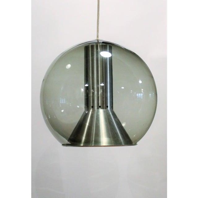 Mid-Century Modern Ceiling Lamp by Franck Ligtelijn for Raak, 1960s For Sale - Image 3 of 6
