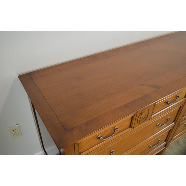 Grange French Cherry 6 Drawer Dresser For Sale - Image 9 of 12