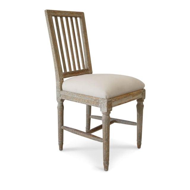 Gustavian (Swedish) Six Swedish Dining Chairs For Sale - Image 3 of 11