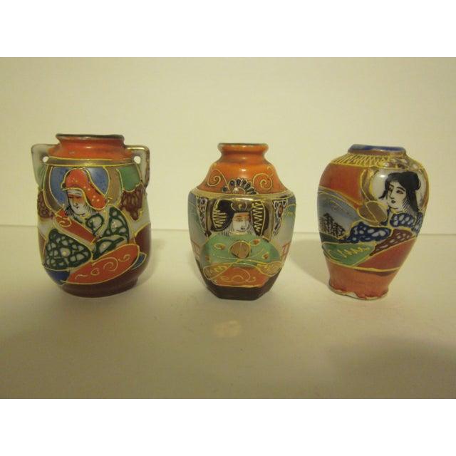 Assorted Vintage Japanese Miniatures - Set of 10 - Image 6 of 11