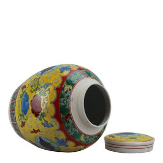 Chinese Style Pasargad DC Floral Porcelain Bottle Preview