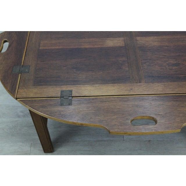 Walnut Mid-Century Walnut Tray Table For Sale - Image 7 of 12