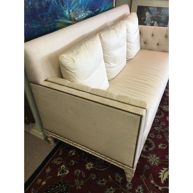 William Switzer Ivory Sofa - Image 4 of 9