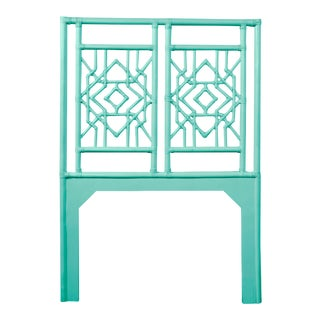 Tulum Headboard Twin - Turquoise For Sale