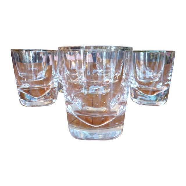 Heavy Glass Short Rocks Glasses - Set of 8 - Image 1 of 6