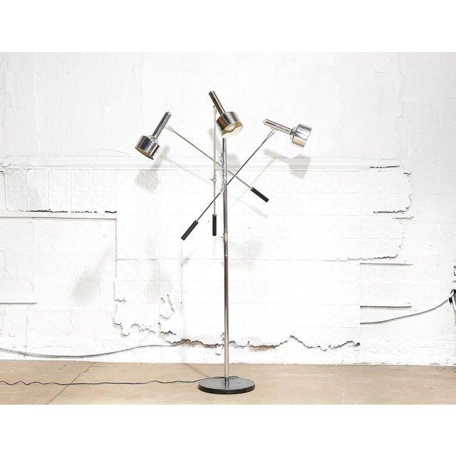 Modernist 3-Arm Floor Lamp - Image 2 of 10