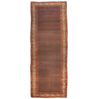 Early 20th Century Seraband Runner - 3′7″ × 10′3″ For Sale